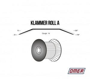Klammer Roll A OMER