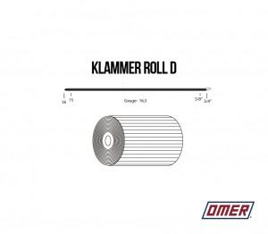 Klammer Roll D OMER