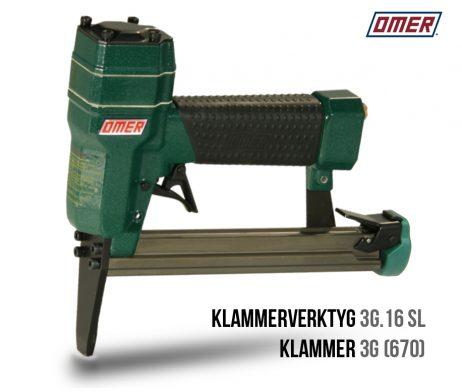 Klammerverktyg 3G.16 SL lång nos 670