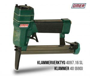 Klammerverktyg 4097.16 sl lång nos 40 eller 690