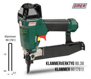 Klammerverktyg 90.38 klammer 90 eller 781
