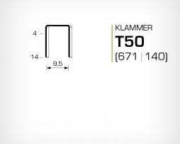 Klammer T50