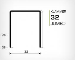 Klammer 32 (Jumbo)