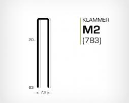 Klammer M2