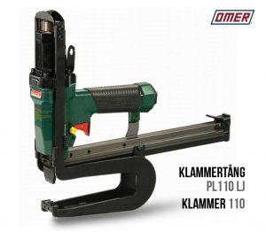 Klammertång PL 110 LJ för klammer 110