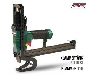 Klammertang PL 110 SJ för klammer 110