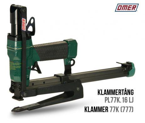 Klammertång PL77K.16 LJ för klammer-77k eller 777