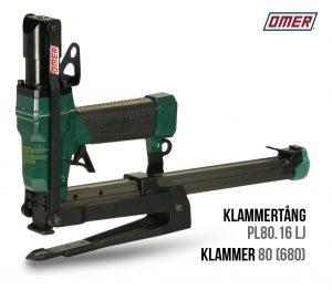 Klammertång PL80.16 LJ för klammer 80 och 680