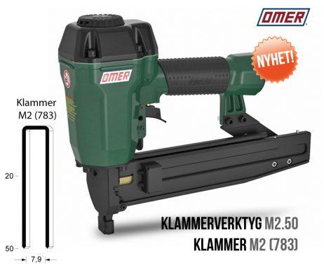 klammerverktyg m2.50 klammer m2 eller jk783