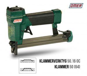Klammerverktyg 50.16 oc klammer 50 eller jk64