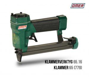 Klammerverktyg 65.16 klammer 65 eller jk779