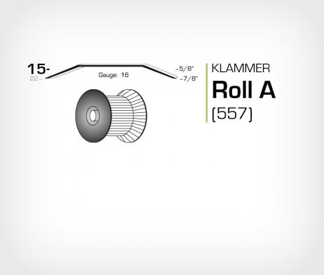 Klammer Roll A/15 Koppar - jk557-15
