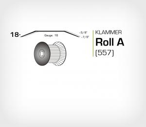 Klammer Roll A/18 Koppar - jk557-18