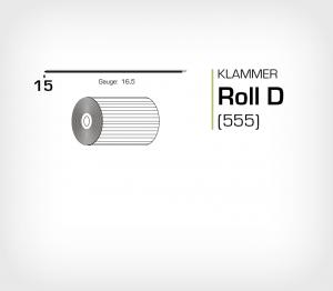 Klammer Roll D/15 Koppar - jk555-15
