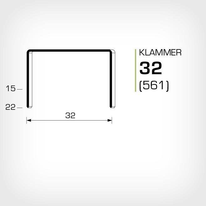 Klammer 32/15, 32/18 och 32/22 är lika med JK561