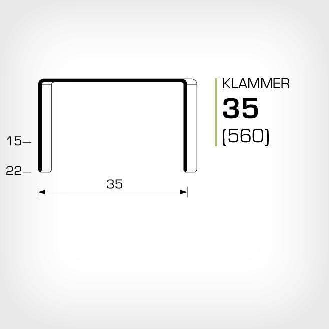 Klammer 35/15, 35/18 och 35/22 är lika med JK560